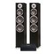 Bluesound Powernode 2i V2 Stereo Speaker System with KLH Kendall 3-Way Floorstanding Speakers - Pair (Black Oak)