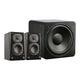 SVS Prime Wireless 2.1 Speaker System (Black Ash)