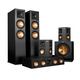 Klipsch 5.1 RP-280 Reference Premiere Speaker Package with R-115SW Subwoofer (Ebony)