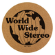 World Wide Stereo 12 Cork Turntable Slipmat - 1979 Special Edition