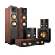 Klipsch 5.1 RP-280 Reference Premiere Speaker Package with R-115SW Subwoofer (Cherry)