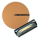 World Wide Stereo Record Care Kit with 12 Modern Series Cork Slipmat and Anti-Static Record Brush