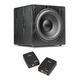 SVS SB12-NSD 12 400W Sealed Box Subwoofer (Premium Black Ash) with SoundPath Wireless Audio Adapter Kit