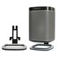Flexson Desk Stands for SONOS PLAY:1 Wireless Speaker - Pair (Black)