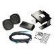 Kicker 46HDS962 5-1/4 Coaxial Speakers and 2-Channel Amplifier for Select 1996-2013 Harley-Davidson Motorcycles