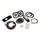 Kicker 46HDS144 6-1/2 Coaxial Speakers and 4-Channel Amplifier for Select 2014 and Up Harley-Davidson Motorcycles