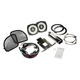 Kicker 46HDR154 6-1/2 Coaxial Speakers and 4-Channel Amplifier for Select 2015 and Up Harley-Davidson Motorcycles