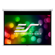 Elite Screens M100XWH2-SRM 100 Manual Pull Down Projection Screen with Slow Retraction