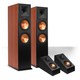 Klipsch RP-280F Reference Premiere Floorstanding Speaker with RP-140SA Add-On Dolby Atmos Enabled Elevation Speakers (Ch