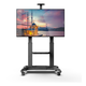 Kanto MTMA100PL Mobile TV Mount with Adjustable Shelf for 60-inch to 100-inch TVs