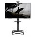Kanto MTMA65PL Mobile TV Mount with Adjustable Shelf for 32-inch to 65-inch TVs