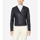 Braided Leather Lambskin Jacket