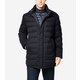 Flannel Down Stand Collar Coat