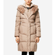 Essential Down Faux Fur Hooded Coat