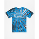 REAL SKATEBOARDS Oval Tie Dye Mens T-Shirt