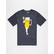 BURTON Wish U Were Beer Mens T-Shirt