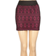 FULL TILT Crochet Ethnic Print Skirt