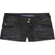 ALMOST FAMOUS Snake Print Womens Denim Shorts