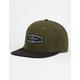 BENRUS Olive Flannel Mens Snapback Hat