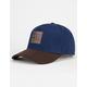 BENRUS Suede Mens Snapback Hat