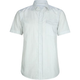 BLUE CROWN White Night Mens Shirt