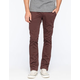 KR3W Mens Slim Chino Pants
