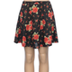 H.I.P. Floral Sweater Girls Skater Skirt