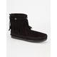 MINNETONKA Double Fringe Side Zip Womens Boots
