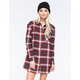 LIRA Keep It Real Womens Flannel Tunic
