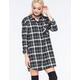 LIRA Keep It Real Womens Flannel Tunic