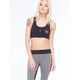 YOUNG & RECKLESS Star Logo Faction Sports Bra