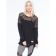 YOUNG & RECKLESS Shutter Contested Womens Top