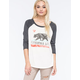BILLABONG Bears Republic Womens Raglan Tee