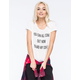 FULL TILT Come Out Coffee Womens Tee