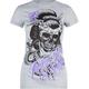 FAMOUS Stars & Straps Geisha Skull Womens Tee