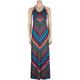 FULL TILT Stripe Maxi Dress