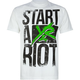 YOUNG & RECKLESS Start A Riot Mens T-Shirt
