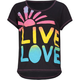 FULL TILT Neon Live Love Sun Girls Tee