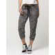 ALMOST FAMOUS Marled Womens Cropped Jogger Pants