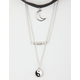 FULL TILT 2 Piece Moon Choker/Yin Yang Necklace