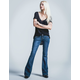 RSQ Venice Womens Flare Jeans