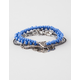 FULL TILT 5 Piece Coin/Bead Friendship Bracelets