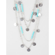 FULL TILT Coin/Bead Swag Layered Necklace