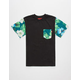 ASPHALT YACHT CLUB Blue Paradise Boys Pocket Tee