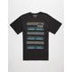 HURLEY Navabra Stacks Mens T-Shirt