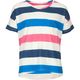 FULL TILT Essential Stripe Girls Hi Low Tee