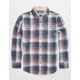 BURTON Brighton Boys Flannel Shirt