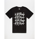 KR3W Cross Out Mens T-Shirt