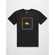 QUIKSILVER Shut Up & Surf Mens T-Shirt
