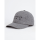 BENRUS Gray Flannel Mens Strapback Hat